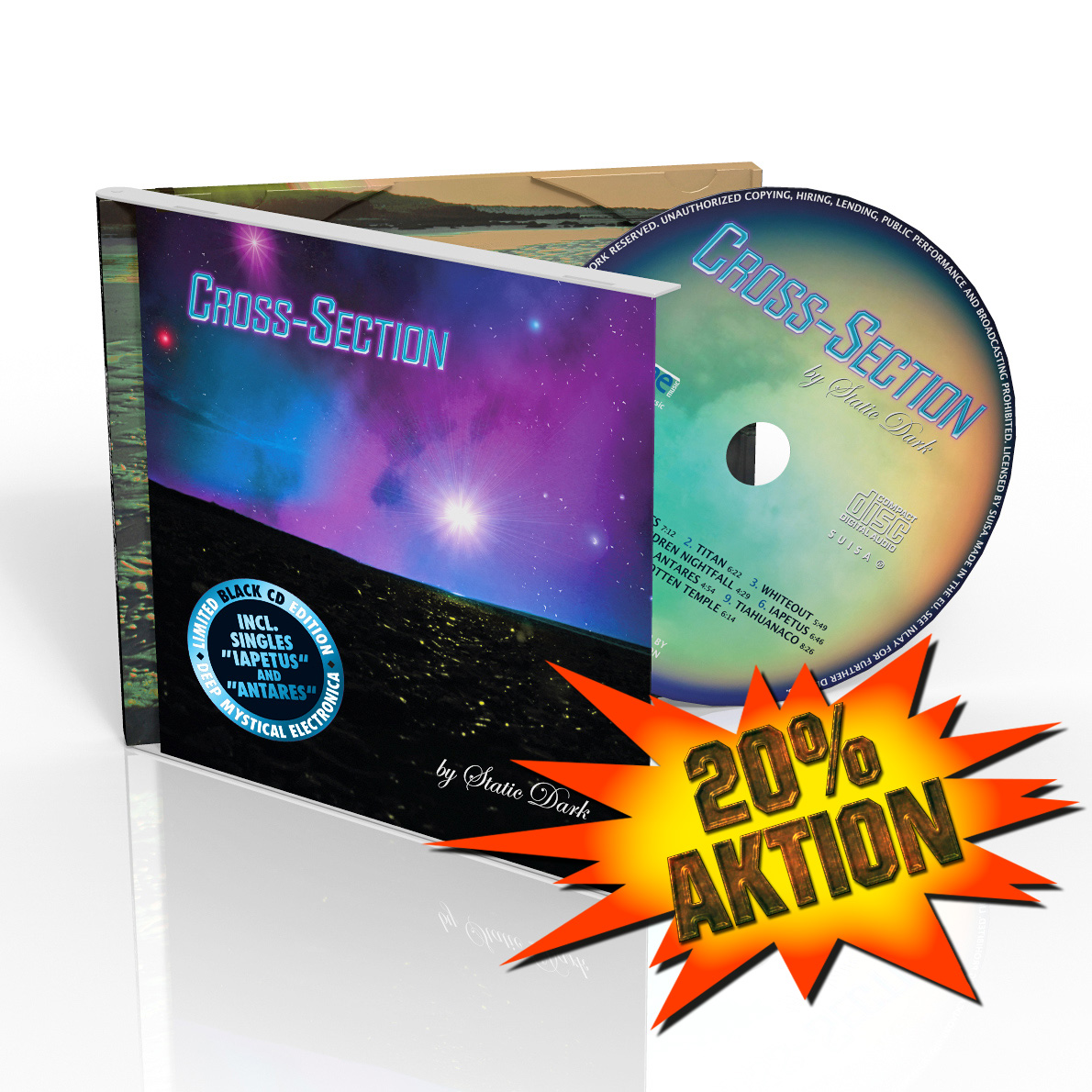Cross-Section Limited Black CD Edition
